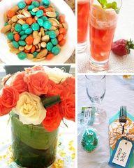 Cute Color Food Ideas Gender Reveal