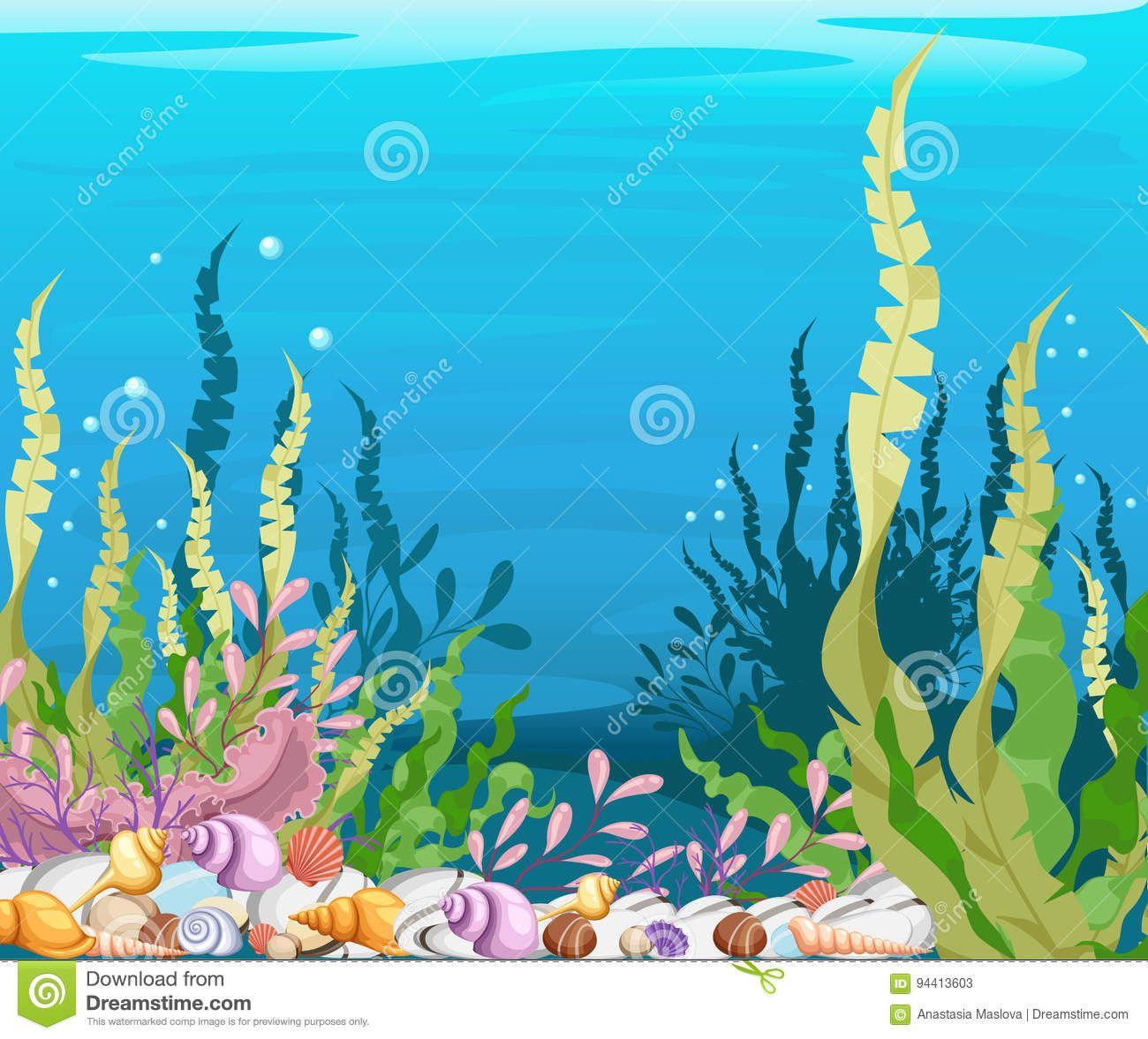 Landscape Ocean Cartoon