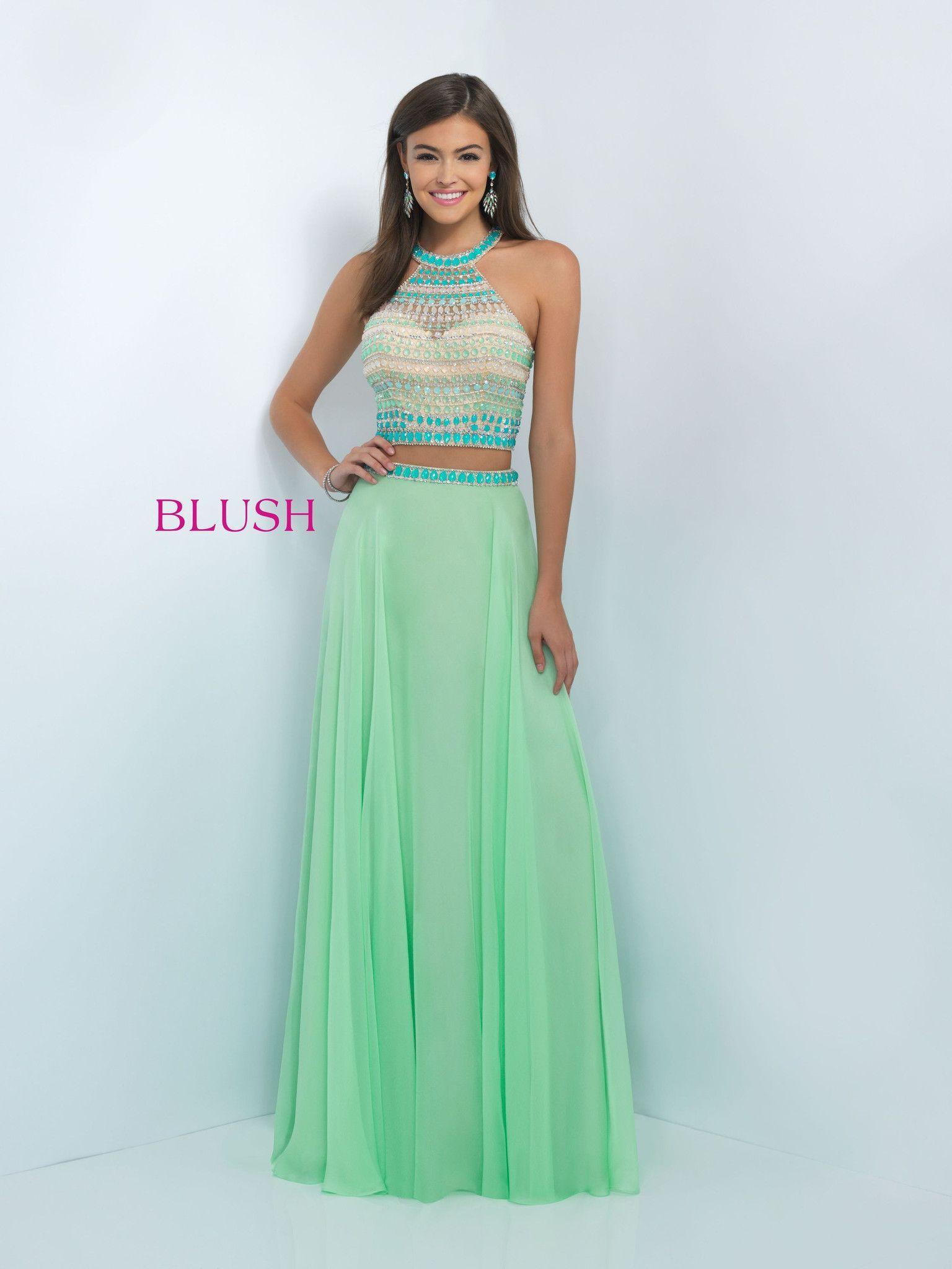 Blush Prom 11056 Honeydew   prom   Prom dresses,