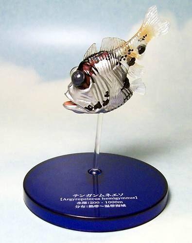 Takara Mystery Encyclopedia deep sea fish II short silver half-naked hatchetfish