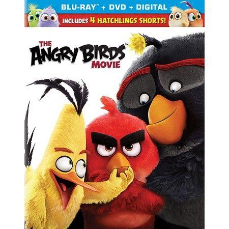 The Angry Birds Movie (Blu-ray + DVD)