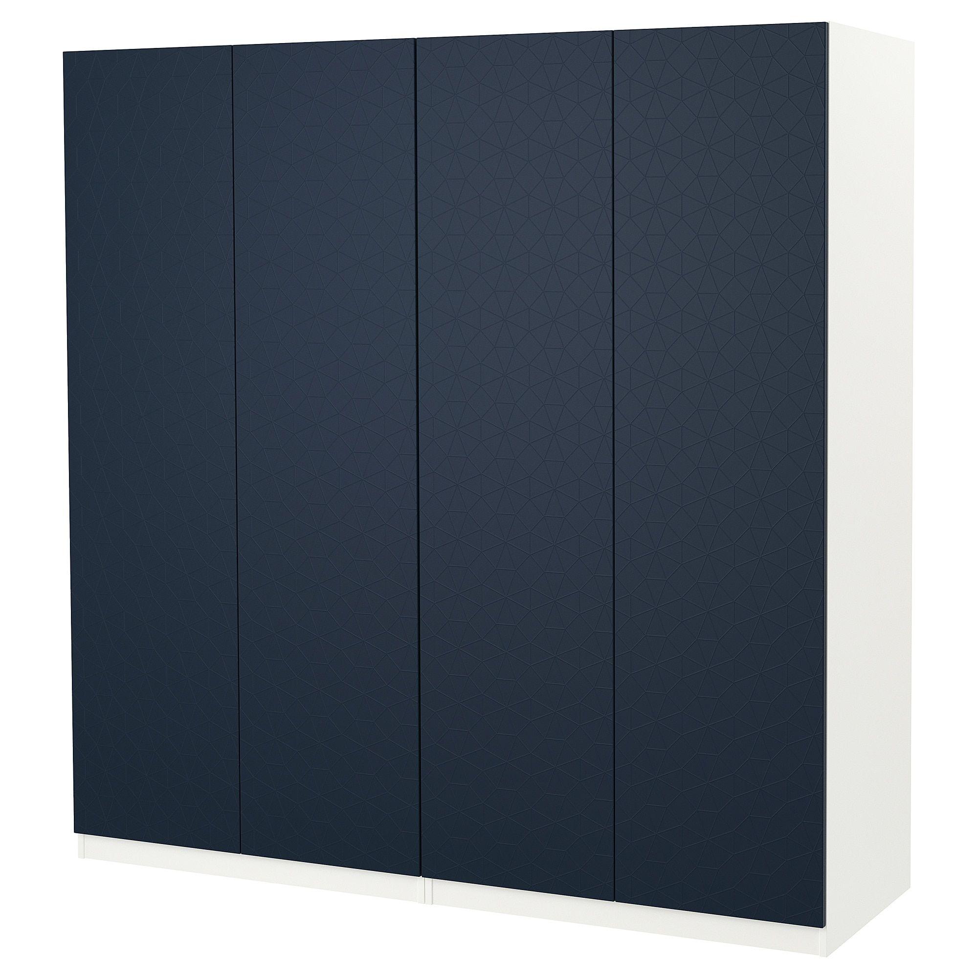 IKEA HAMNAS Black-Blue Door with hinges | Products in 2019