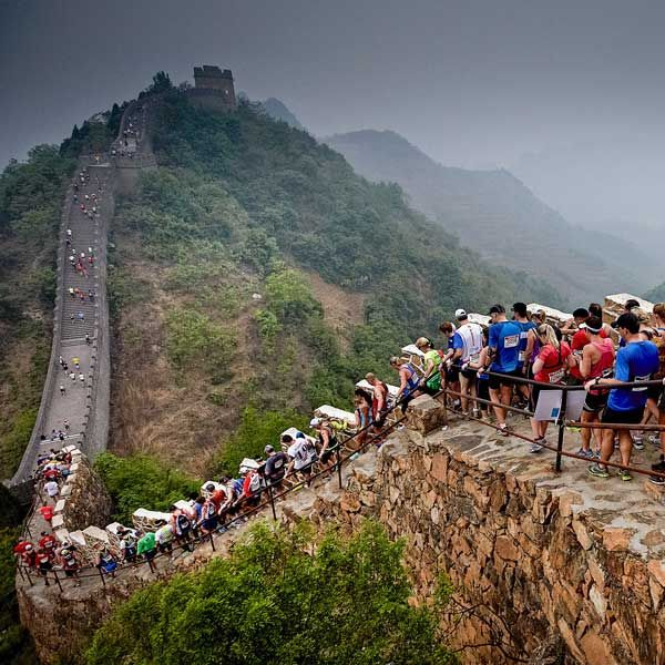 Great Wall Marathon China Steps Into History One Day I - Great wall marathon