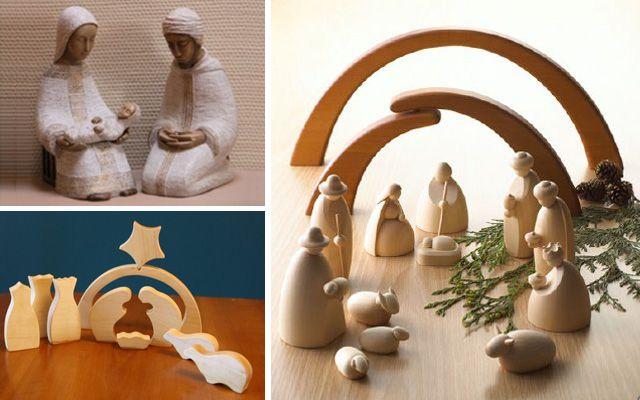 Fotos Esta Navidad Belenes Originales.Ideas Para Decorar Con Belenes De Navidad Originales
