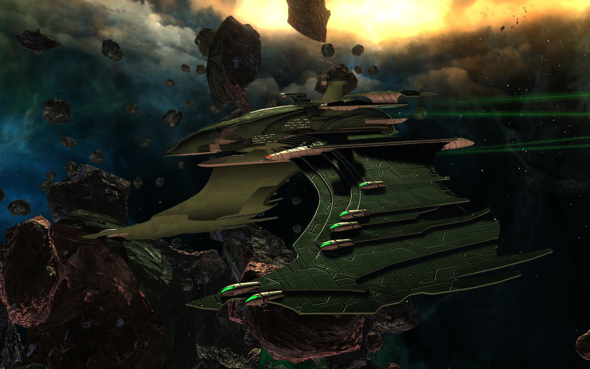 Werte der romulanischen Flaggschiffe   Star Trek Online