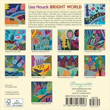 Lisa Houck Bright World 2017 Mini Wall Calendar Wall Calendar Calendar Sketches