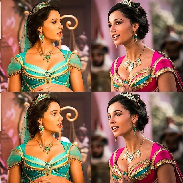 Photo of Naomi Scott som prinsesse Jasmine
