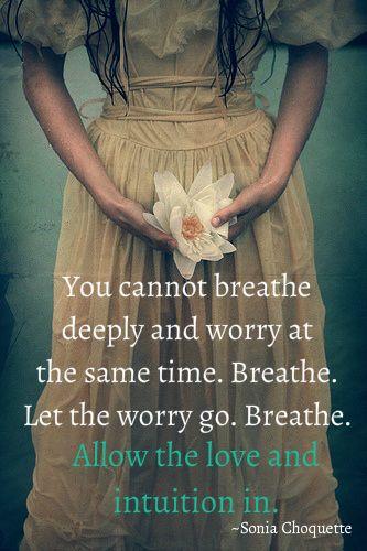 Breathe Allow Your Intuition In Zelfkennis Is Het Begin