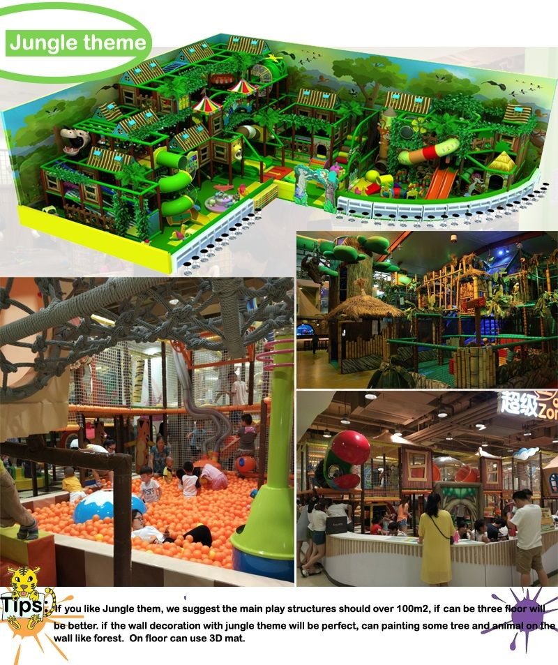 Commercial indoor playground equipment angel playground for Indoor play structure prices