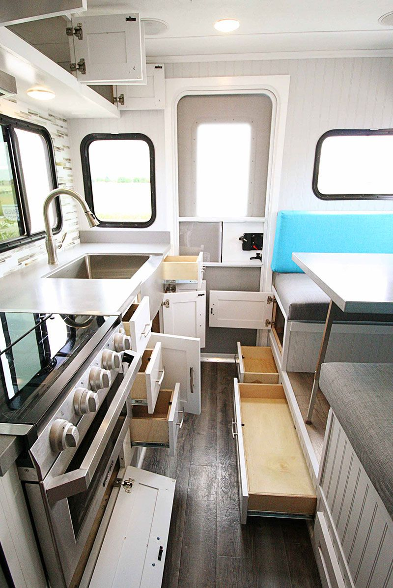 2019 Rugged Mountain Granite 11RL | Truck Camper Interiors | Camper