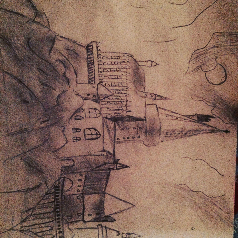 I drew hogwarts