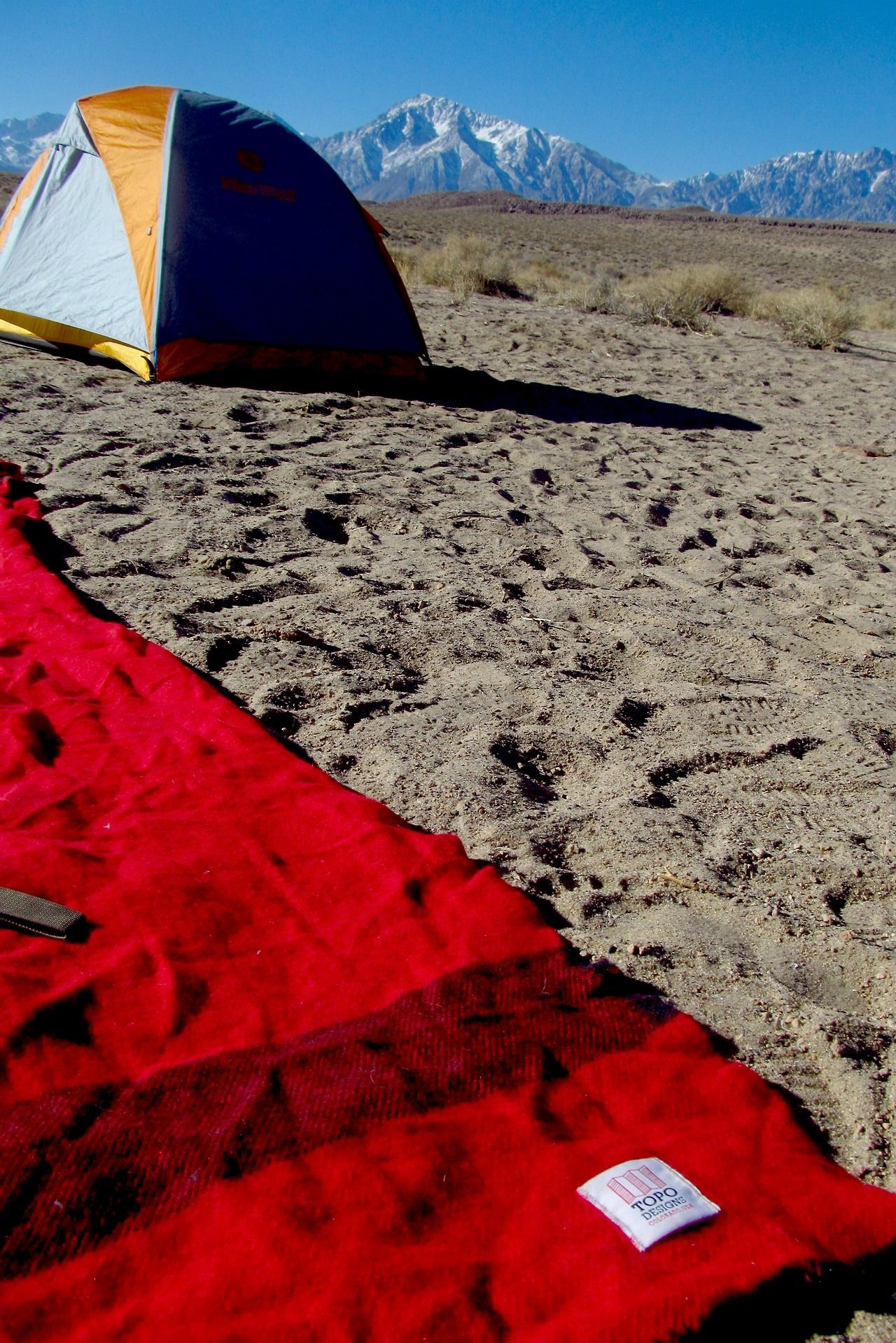 Topo Designs Camp Blanket