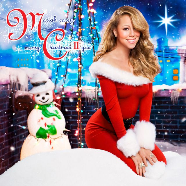 The 10 Best Christmas Album Covers From The 2000s Mariah Carey Merry Christmas Mariah Carey Christmas Mariah Carey