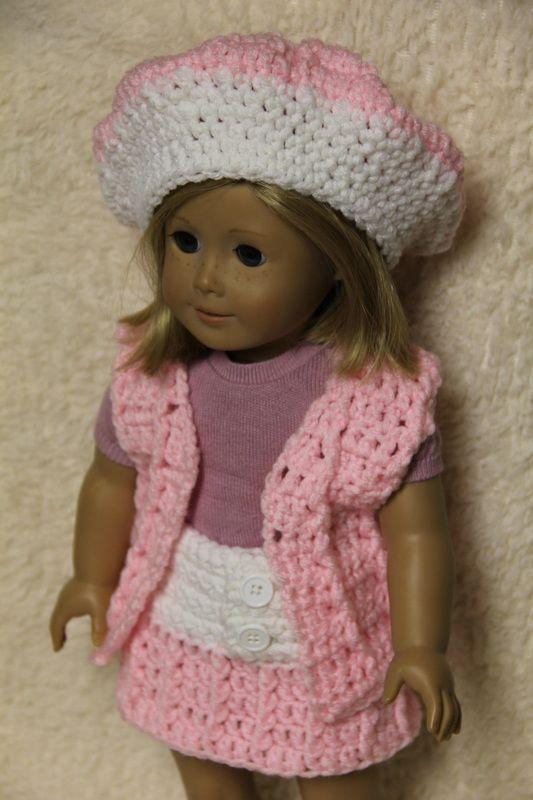 American Girl Doll Clothes - Mrs. V\'s Crochet | American girl doll ...