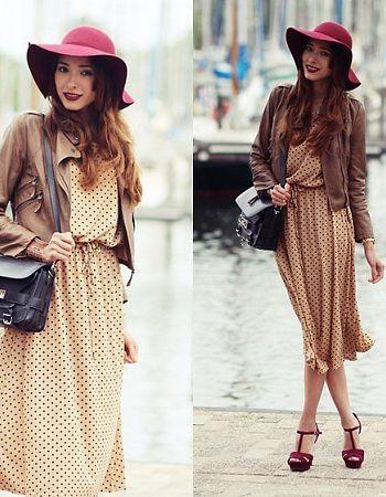 Pastel dresses looks