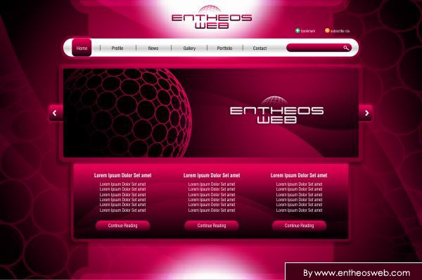 Simple Web Layout Design With Corel Draw Basic Website Design Simple Web Design Web Layout Design