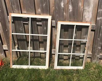 Sale Wood Window Flower Box Window Frames Antique Wood Etsy Wood Window Frame Wood Windows Window Box Flowers