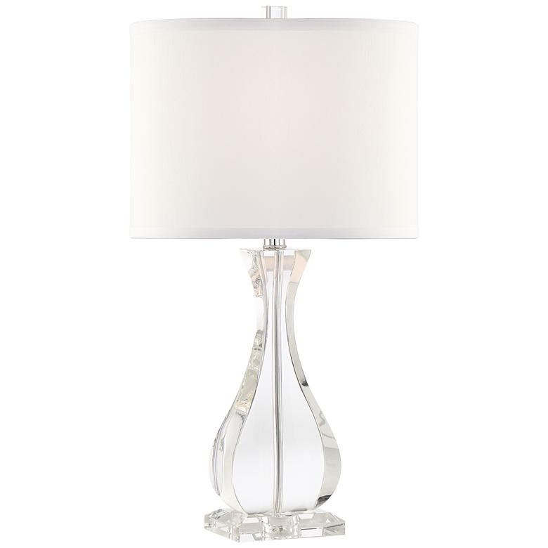 Amelia Crystal Vase Table Lamp By Vienna Full Spectrum 39v68 Lamps Plus Vase Table Lamp Table Lamp Lamp