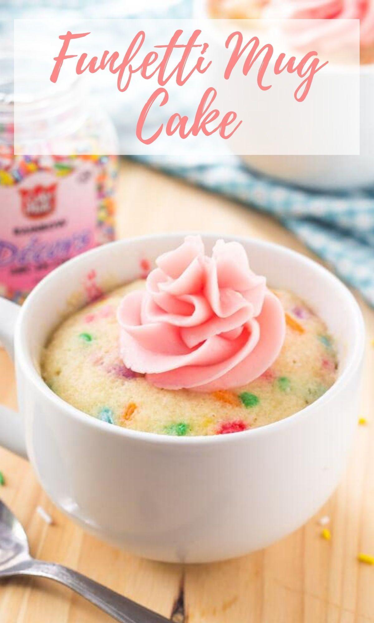 Vanilla Mug Cake Moist Flavorful Cake That S Ready In Minutes Recipe Vanilla Mug Cakes Microwave Mug Recipes Mug Recipes