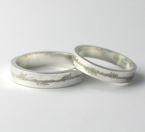 Engraved Wedding Rings Pictures