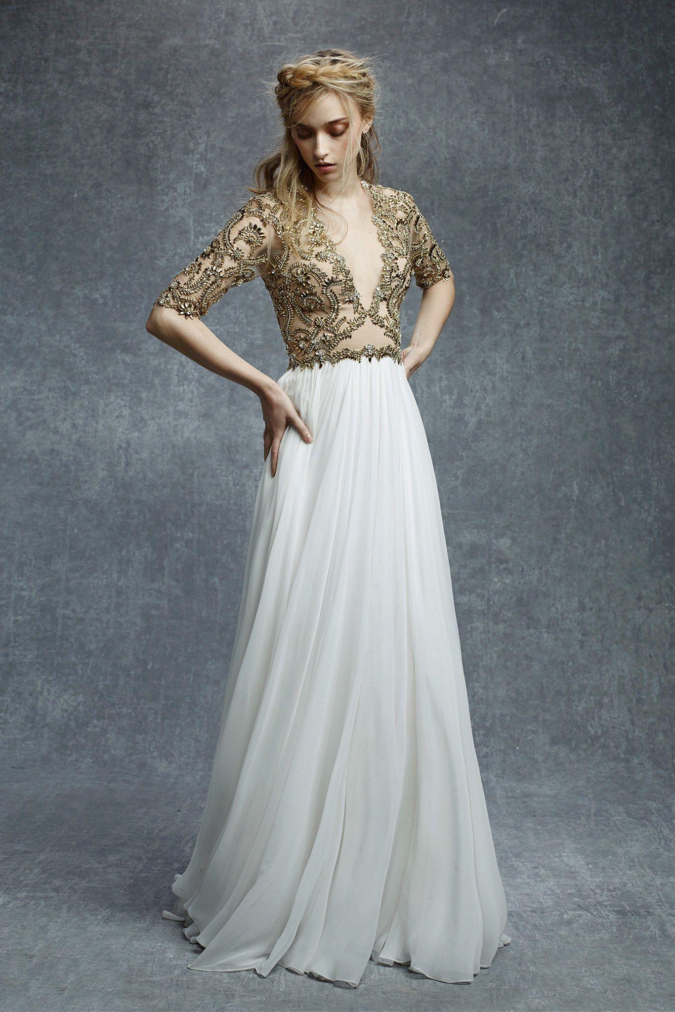 Reem acra prefall fashion show beautiful beautiful dresses