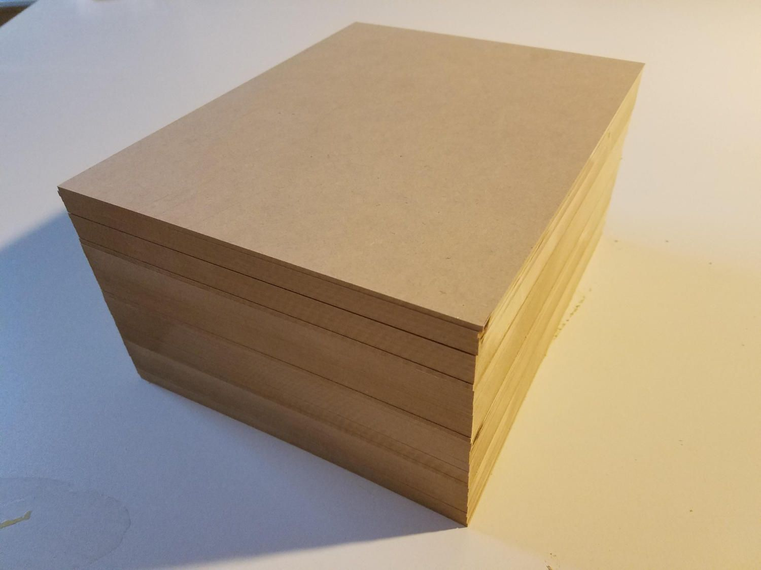 1 8 8 5x11 Mdf Sheets 44 Sheets Medium Density Fiberboard By Americanlasersupply On Etsy Laser Wood Wood Sheets Las Fiberboard Laser Engraving Wood Crafts