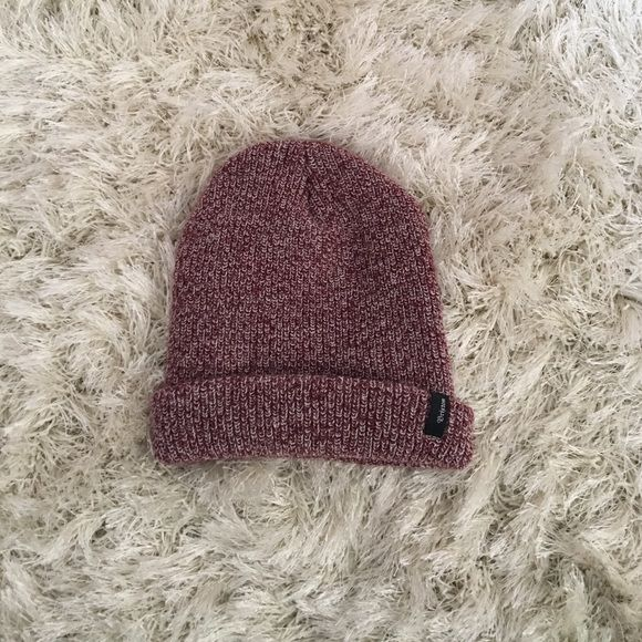 Brixton beanie The color looks like purple but it's actually like a burgundy PacSun Accessories Hats