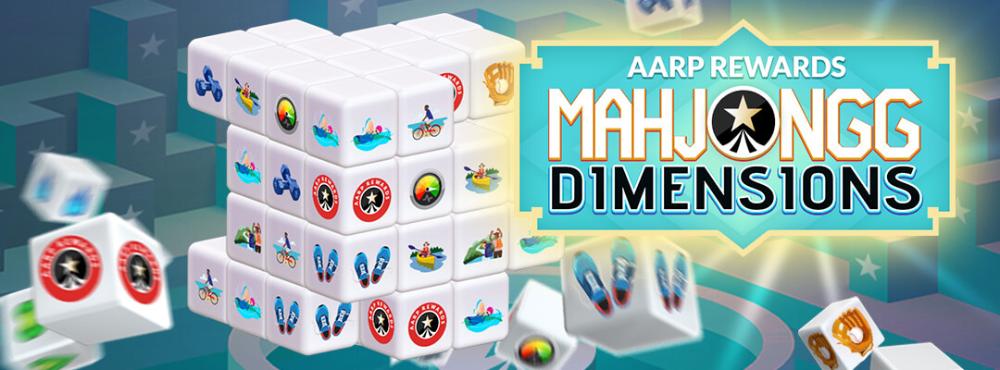 New AARP Rewards Mahjongg Dimensions in 2020 Aarp