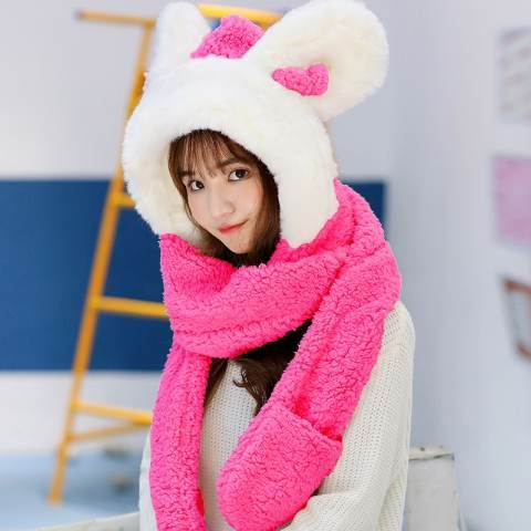 5889f8e7298 Winter Hats · Rabbit · Gloves · Bunny · Beanies · Roses ·  https   www.buyhathats.com cute-rabbit-hat-