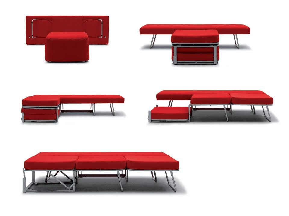 a collection of modern italian transformable furniture made in