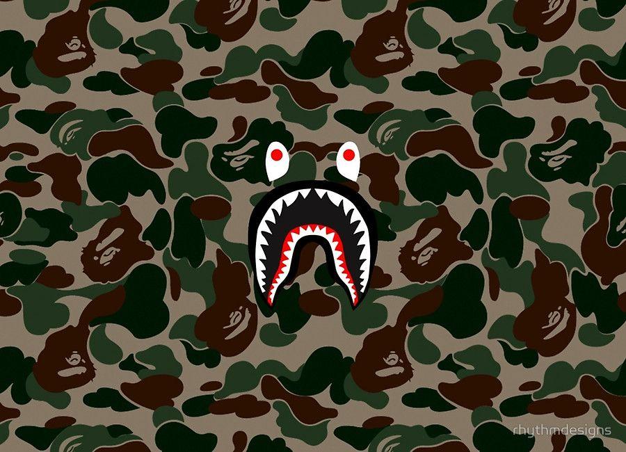 Bape shark 900 650 pixels wallpaper pinterest - Bape wallpaper mac ...