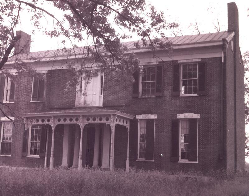 Kentuciana Farm The Matthew Flournoy House 1830 S Scott County Ky House Styles House Architecture