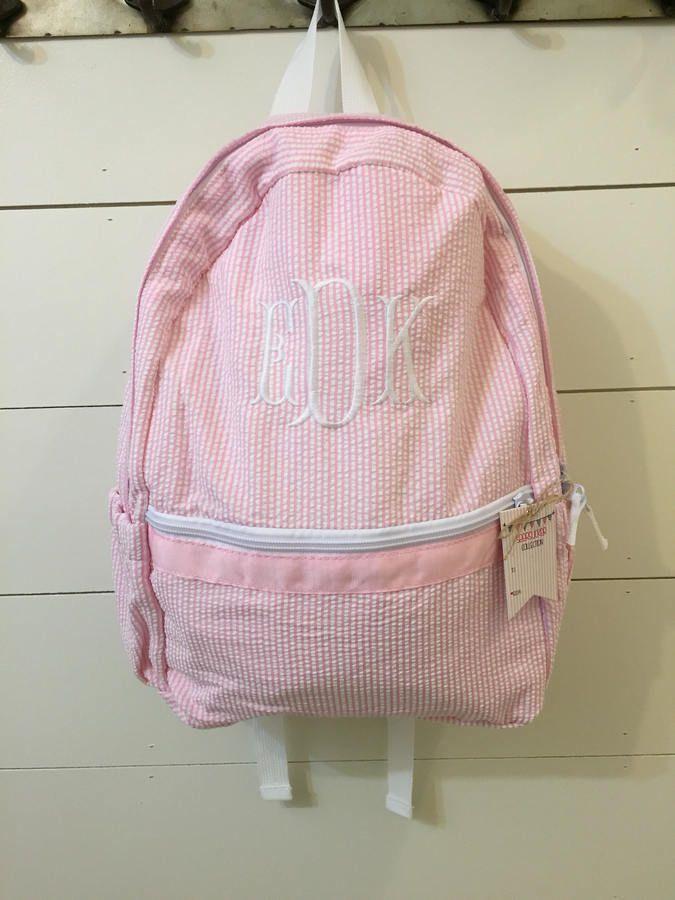 87e6b673bd48 Etsy Monogrammed backpack
