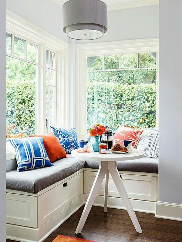 Perfekt Interior Design Ideen Sitzbank Holz Im Esszimmer In Weiß
