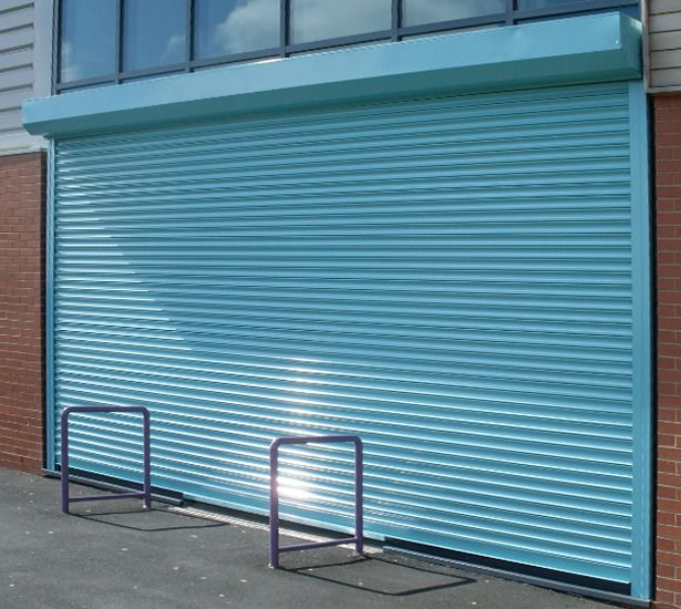 RSG5000 Steel Security Roller Shutters fitted externally to the ...