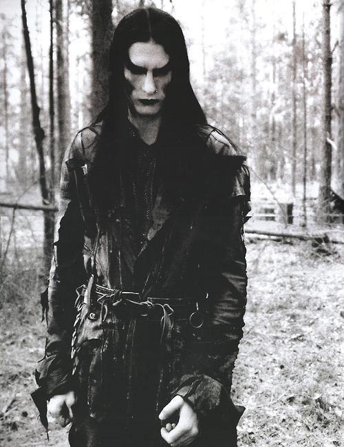 Mustis of Dimmu Borgir, taken by Peter Beste.