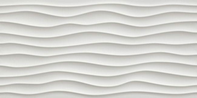 Atlas Concorde 3d Wall Design Dune White Matt 80 Wall Design 3d Wall Porcelain Wall Tile