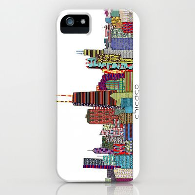 Chicago city iPhone & iPod Case by bri.buckley - $35.00
