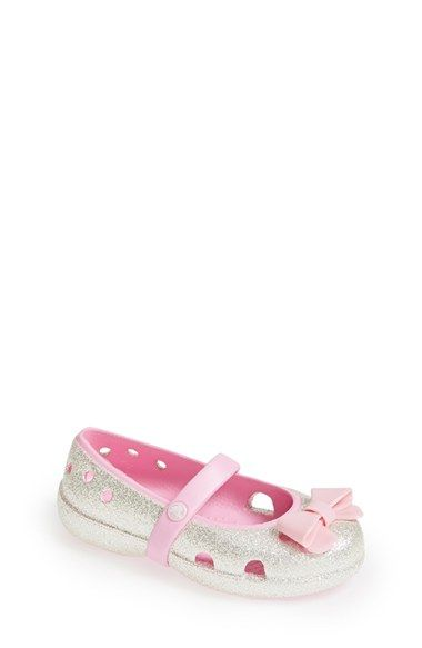 eb14dd932a38c Free shipping and returns on CROCS™  Keeley  Glitter Bow Mary Jane (Baby