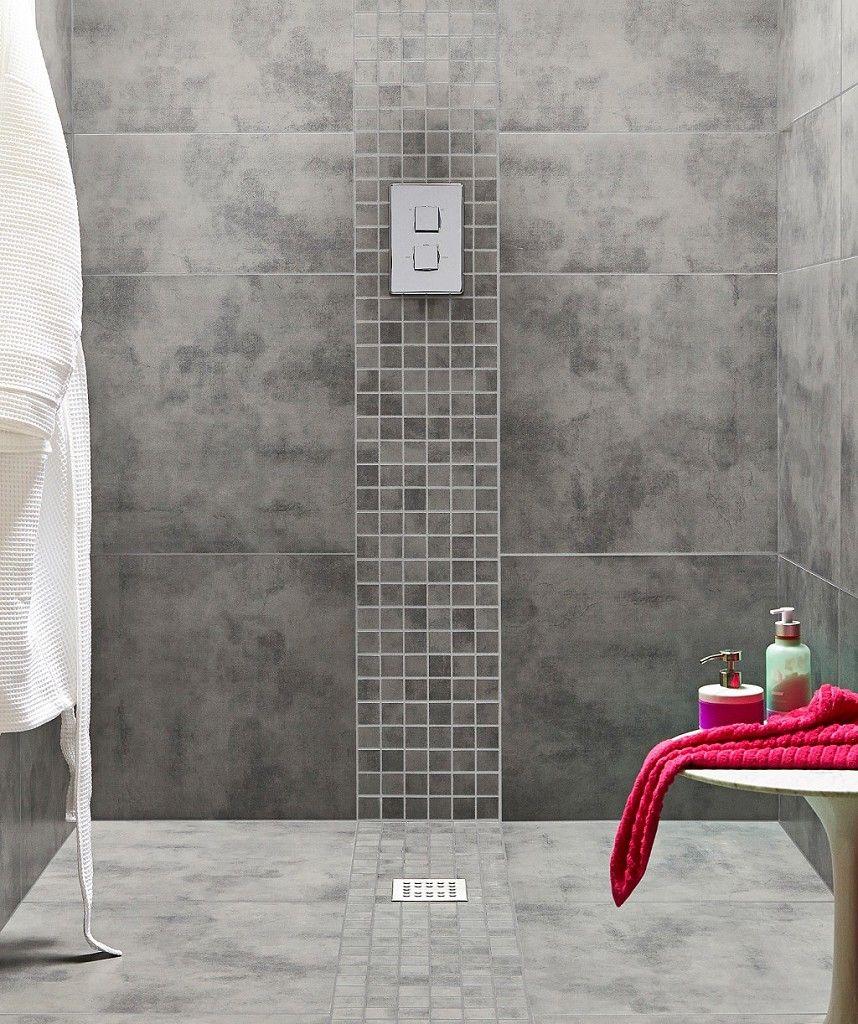 Zamora Grey Wall and Floor Tile 29.5x59.5cm | Grey ...