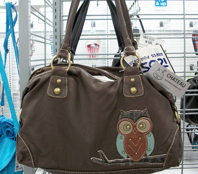 Owl Purse from Ross | Flickr - Photo Sharing!