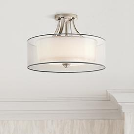 Kichler Lacey 20 Wide Antique Pewter Ceiling Light Fixture