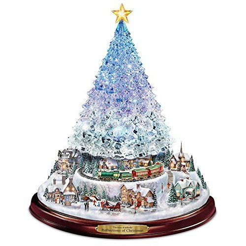 The Ultimate Disney 50 Character Tabletop Christmas Tree: Thomas Kinkade - Strahlende Weihnacht