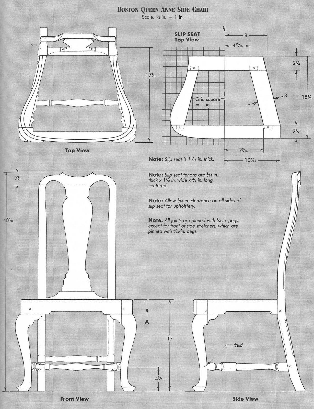 Elga S Miniatures Queen Anne Chair Cabriole Legs Jig