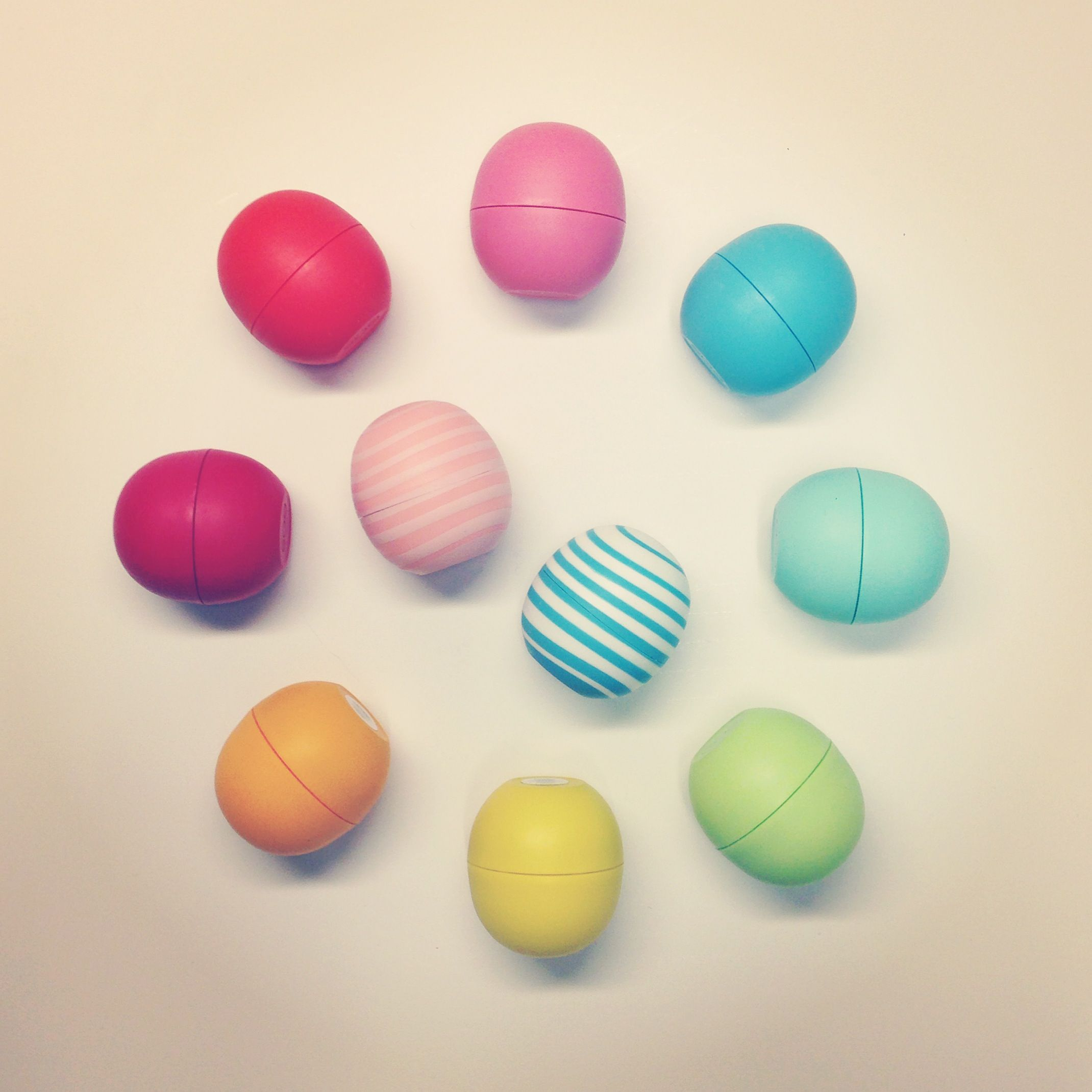 Like if you've got (or covet) the whole #EOS rainbow! Get new Vanilla Mint and Coconut Milk in Kohl's stores now.