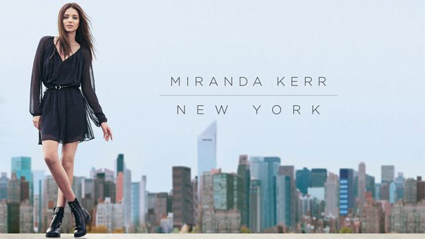Miranda Kerr-New York Mango Fall 2013 New Campaign Video