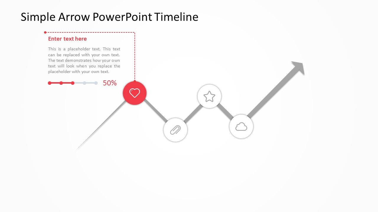 Our Simple Arrow Powerpoint Timeline Uses An Easy To Edit But