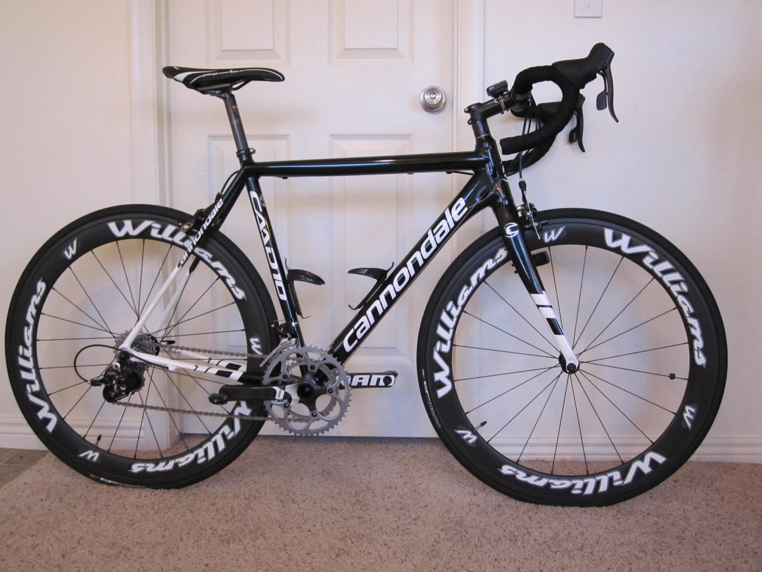 1c30edaefcc Cannondale Caad10 Road bike review with Williams wheels - YouTube ...