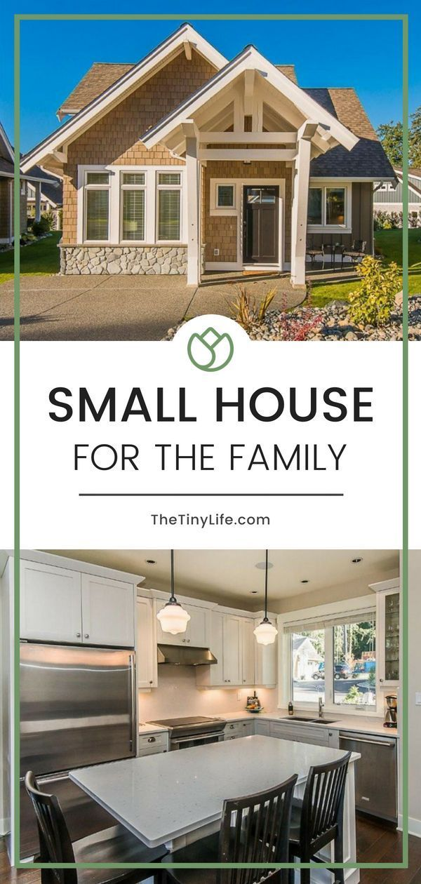 Small House For The Family Tiny house family, Small