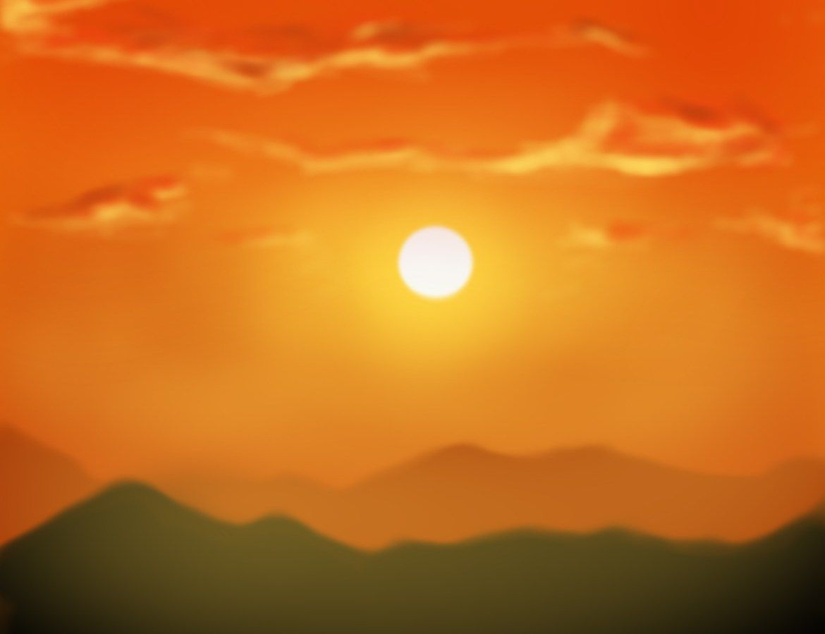 Today I'll be covering the basics of painting a sunset with you. To make this tutorial, I used Photoshop, but the same basic principles apply whether you're doing a digital painting, or a traditional one. Step 1 To get our sunset started, we are first going to put down a base of orange. It doesn't …